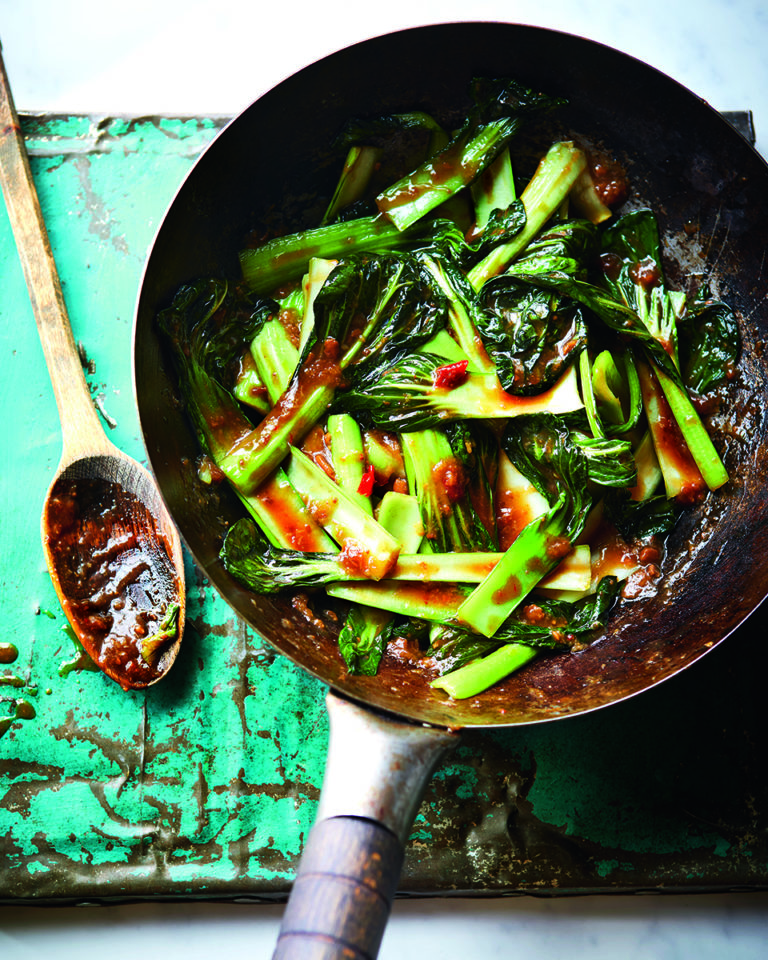 Stir-fried Thai-style tat soi