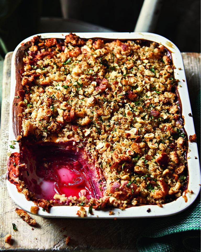 Slow-baked vegetable 'lasagne'