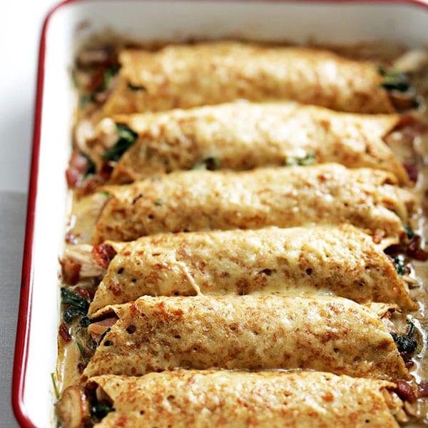 Best pancake recipes: Savoury pancakes