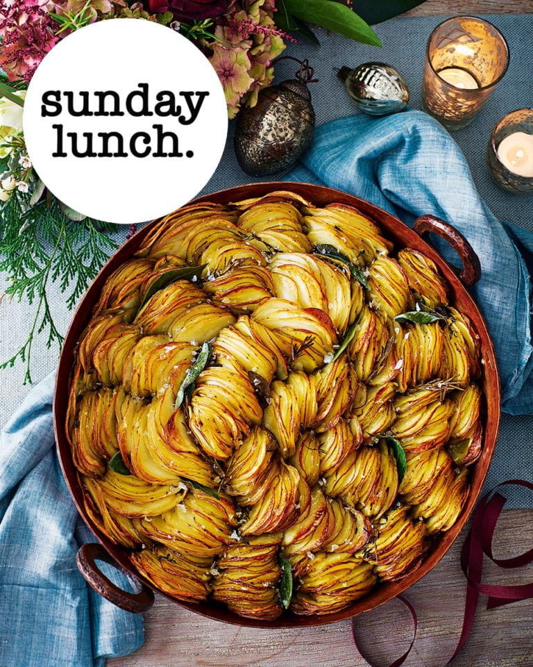 The show-stopping Sunday lunch menu