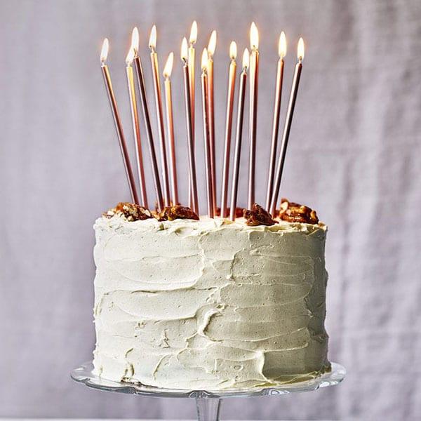 Eric Lanlard's carrot and pumpkin celebration cake
