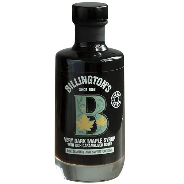 Billington's very dark maple syrup