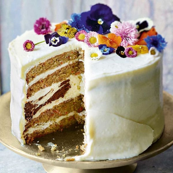 Carrot and cheesecake layer cake