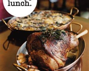 The celebration Sunday lunch menu