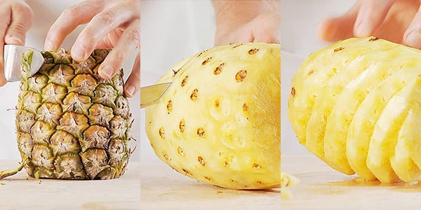 Most-googled food questions: how to peel a pineapple