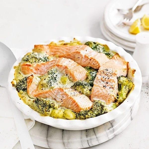 salmon gnocchi