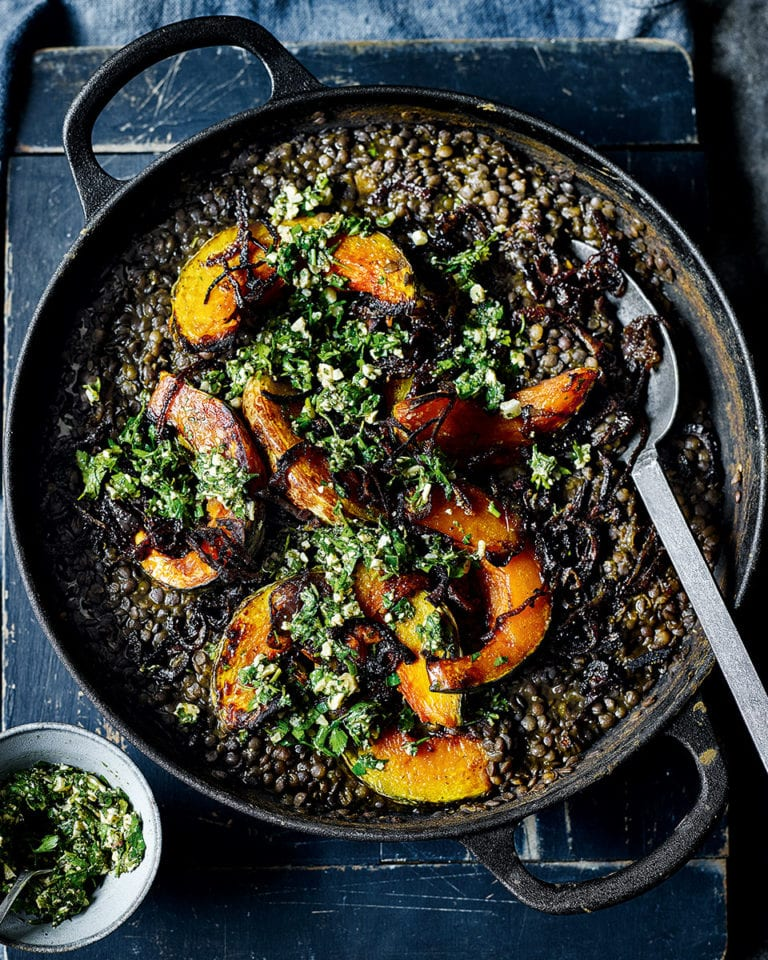 Pumpkin black dhal