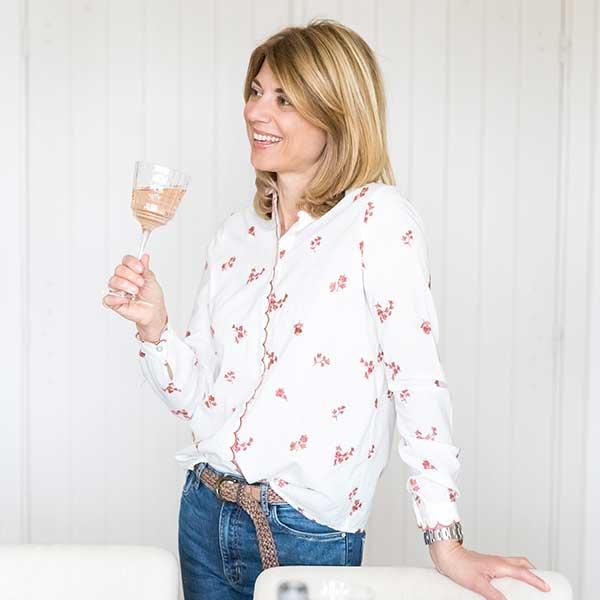 Jeany wine tasting