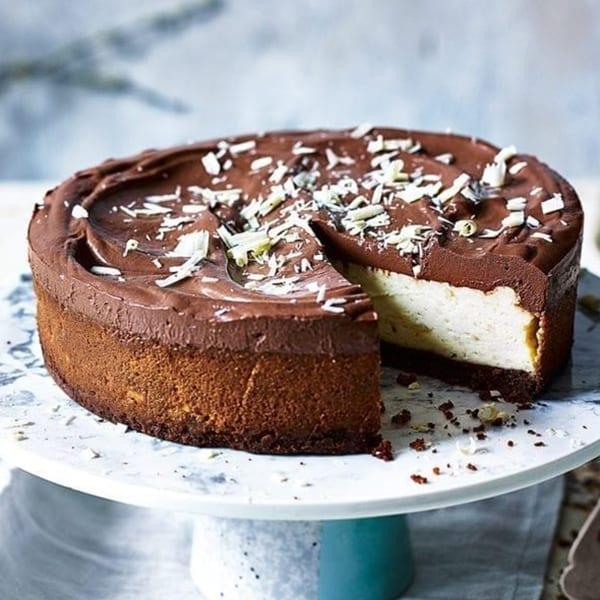 Chocolate new york cheesecake
