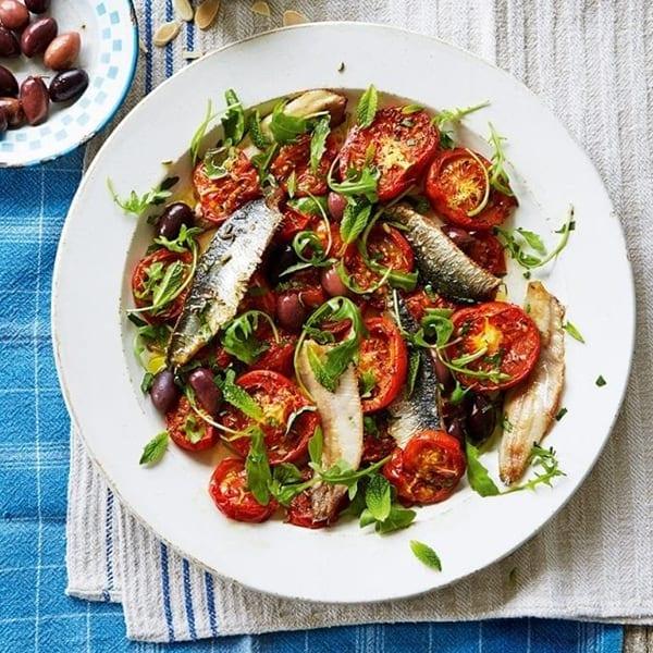 sardine tomato salad