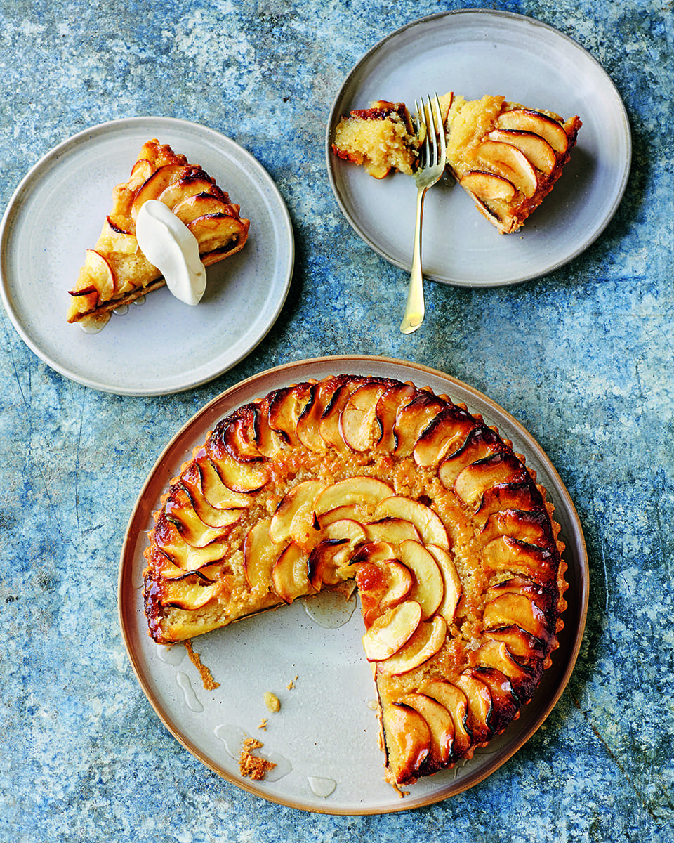 Black Butter Frangipane And Apple Tart Delicious Magazine