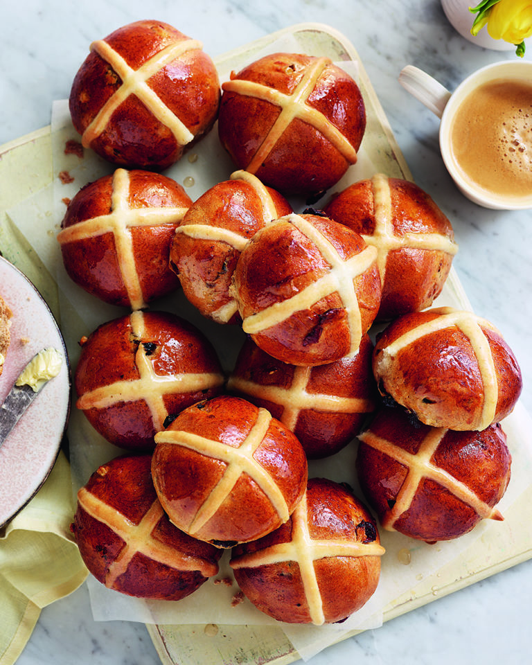 Gail's hot cross buns
