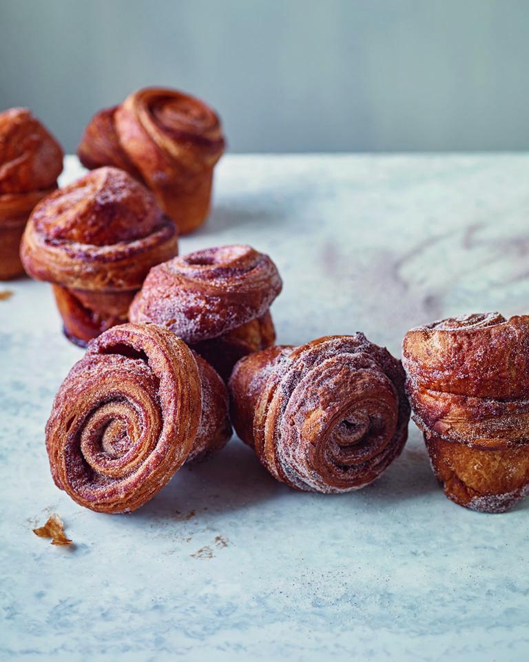 Gail's Bakery's cinnamon buns