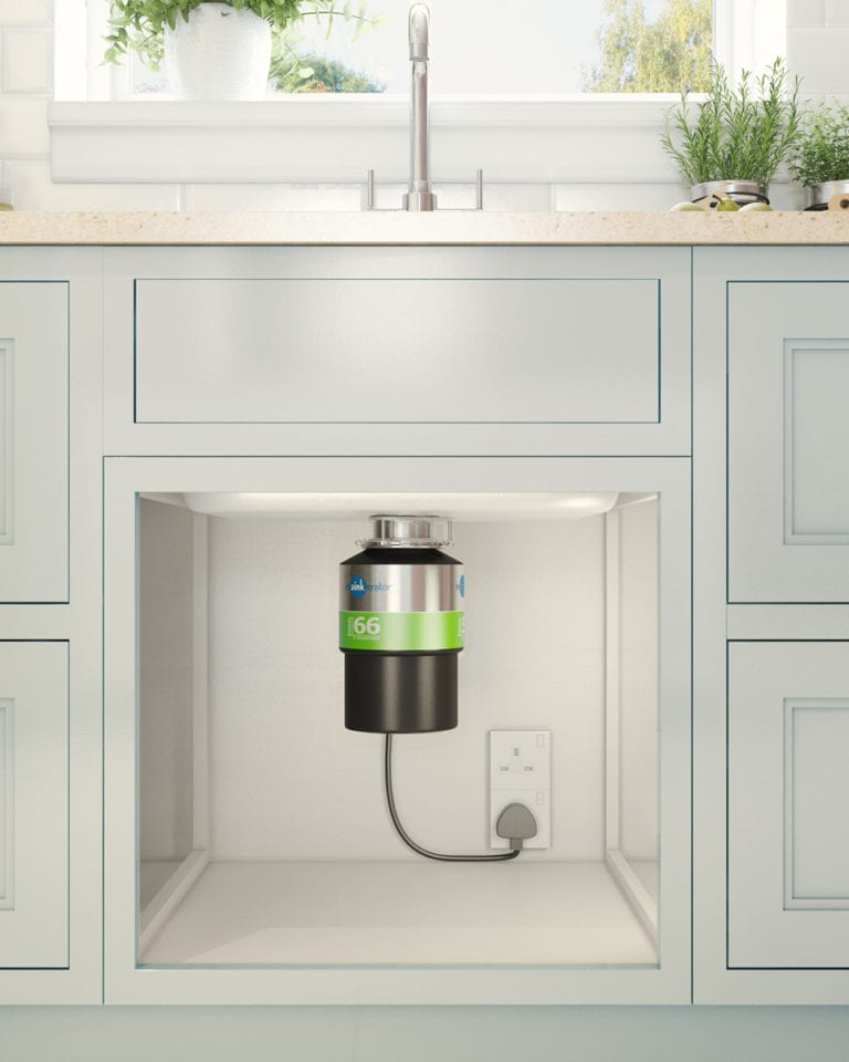 Win a food waste disposer, worth £250