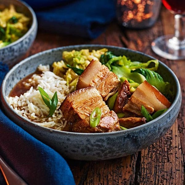 soy braised pork belly
