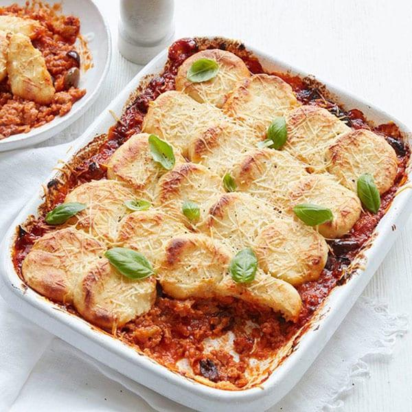Roman-style gnocchi