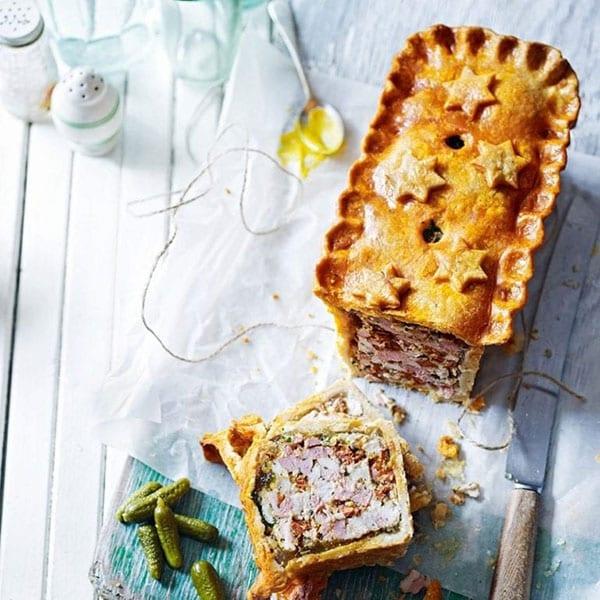 Raised picnic pie