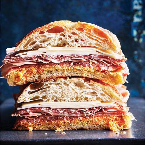 mufflatta sandwich