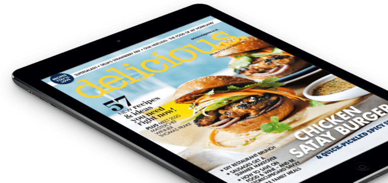 Subscribe to the digital edition of delicious. magazine