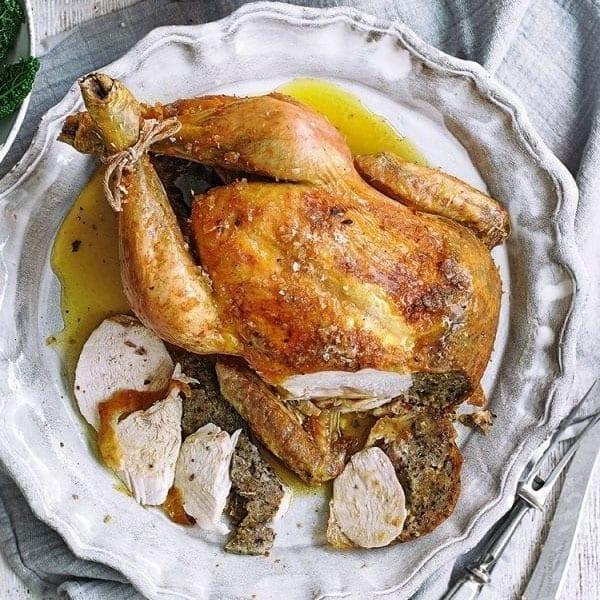 Oregano roast chicken