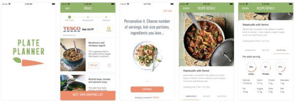 Plate Planner app