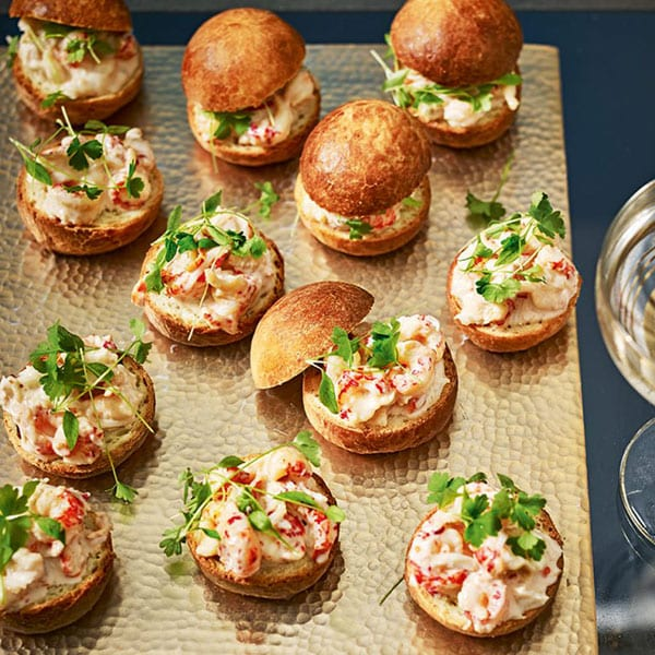crayfish canapes