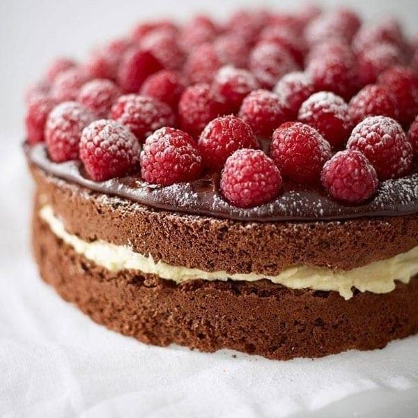 gluten-free choc cake