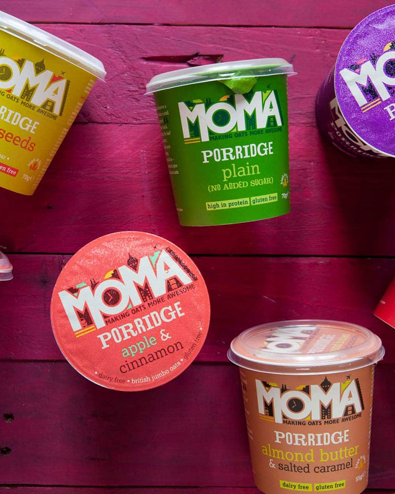 Win one of five bundles of oaty treats from MOMA Foods, worth £100!