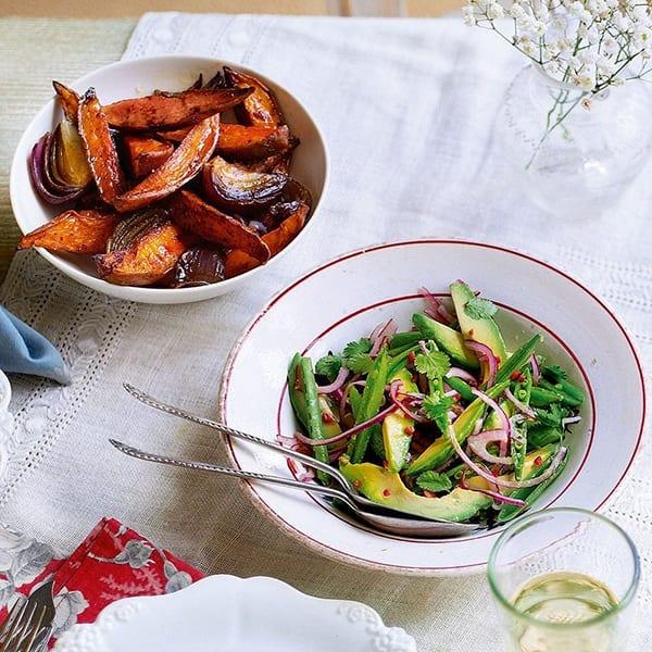 Avocado and coriander salad
