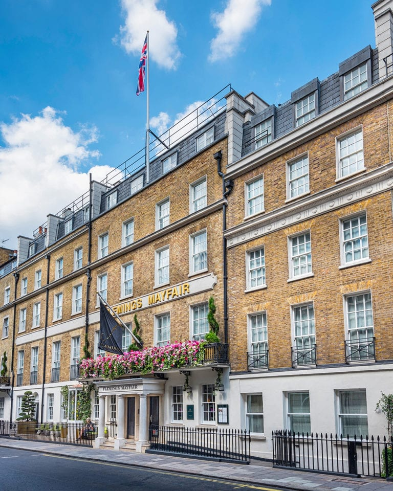 Win a night's stay at the Flemings Mayfair Hotel