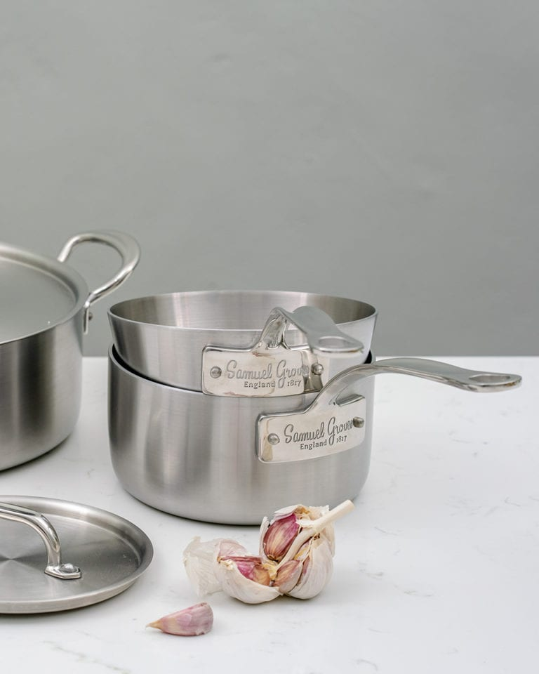 Win one of two Samuel Groves cookware bundles, worth over £250!