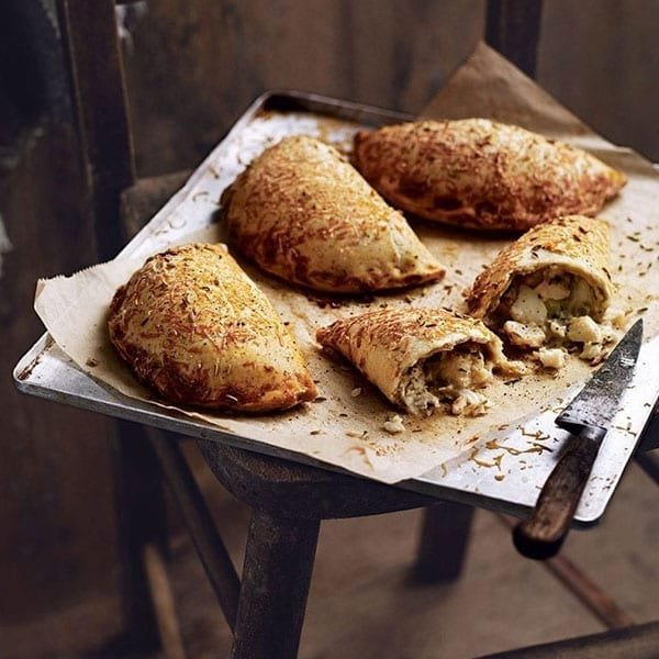 Smoked haddock pasties