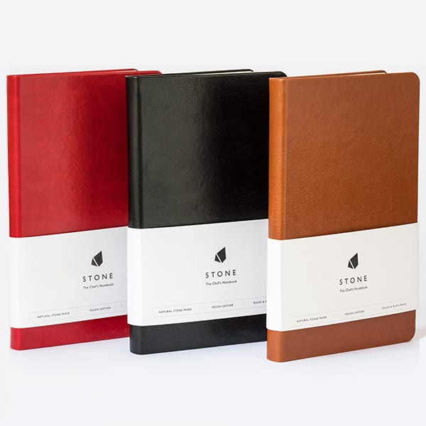 stone chef's notebook