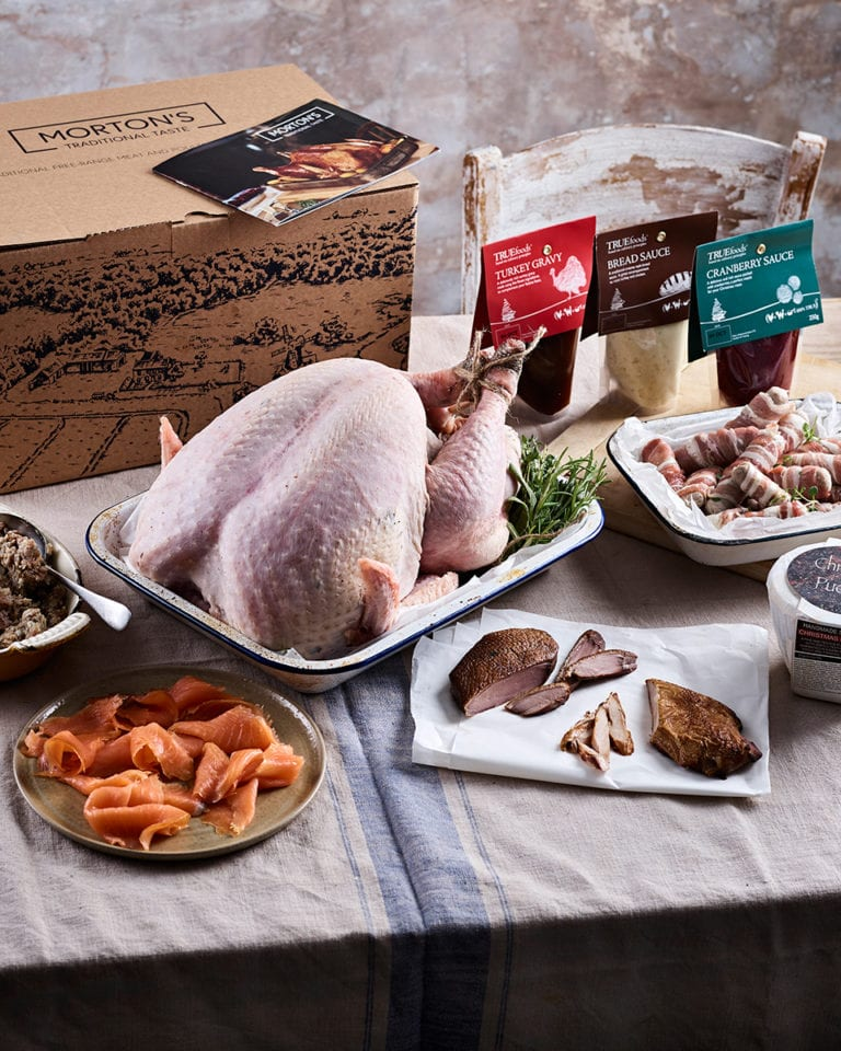 Win a Christmas meat hamper from Morton's, worth £150