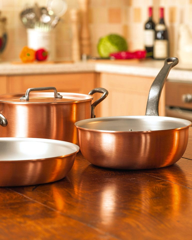 Cook it like delicious: Win a copper cookware set, worth £640