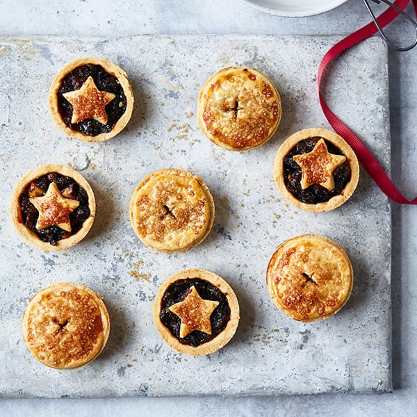 Rich mince pies