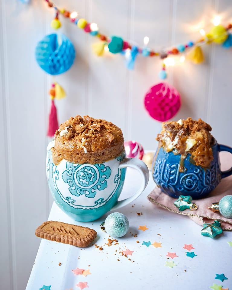 Biscoff microwave mug cake