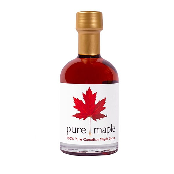 pure maple syrup