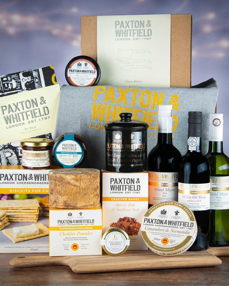 12 hampers of Christmas: WIN a cheese hamper from Paxton & Whitfield