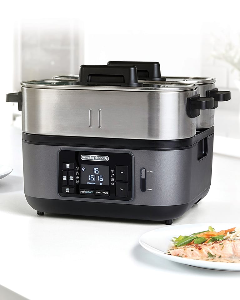 Win a Morphy Richards Intellisteam food steamer, worth £129.99!