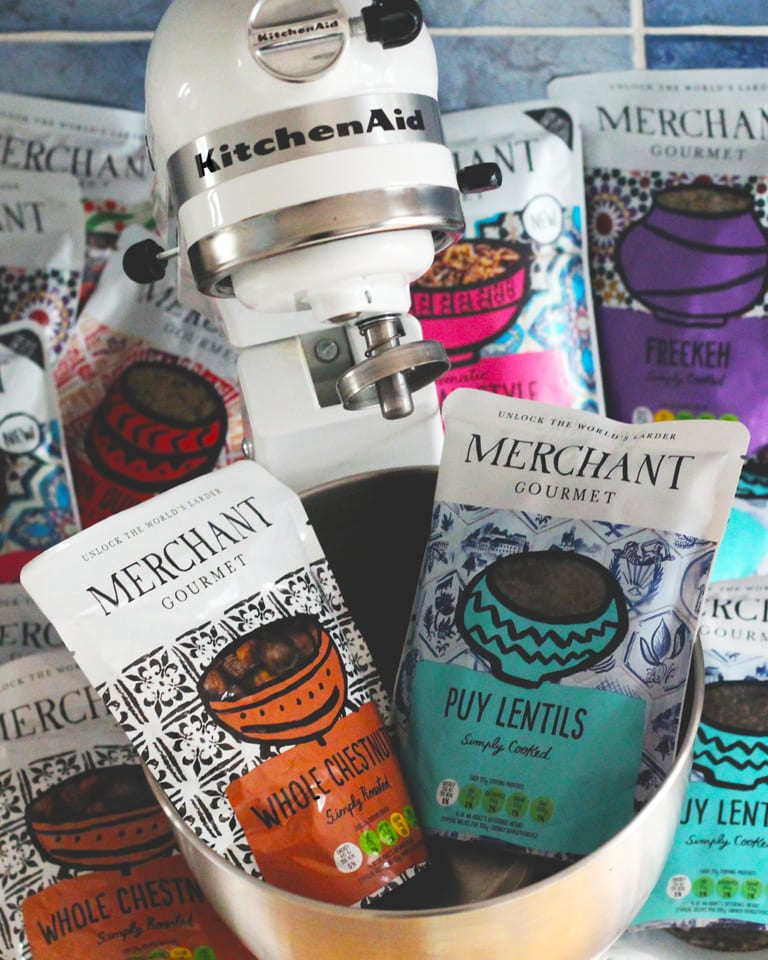 Win a KitchenAid and a box of Merchant Gourmet goodies, worth £550!