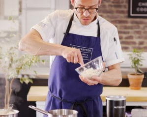 Improve your cooking skills at home