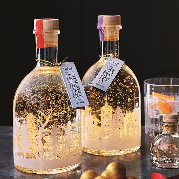M&S light up gin