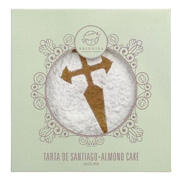 Brindisa almond cake