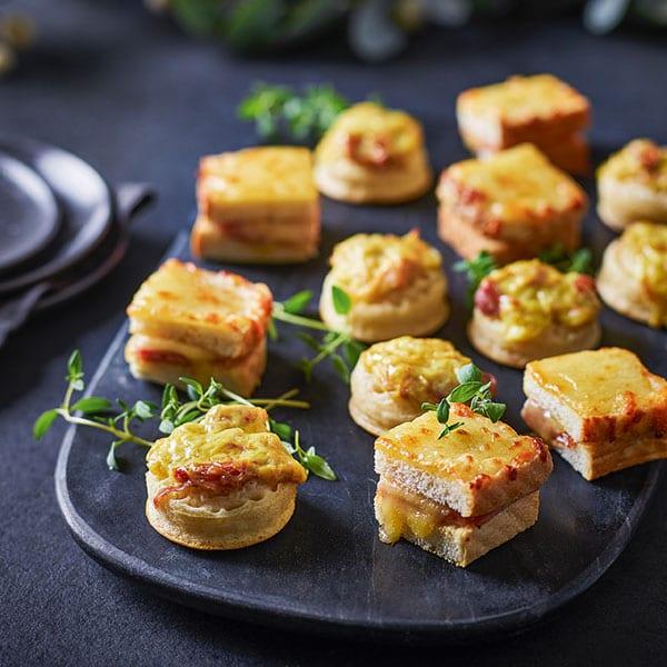 mini cheese toasties