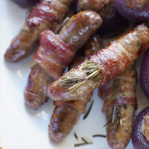 Christmas pigs in blankets