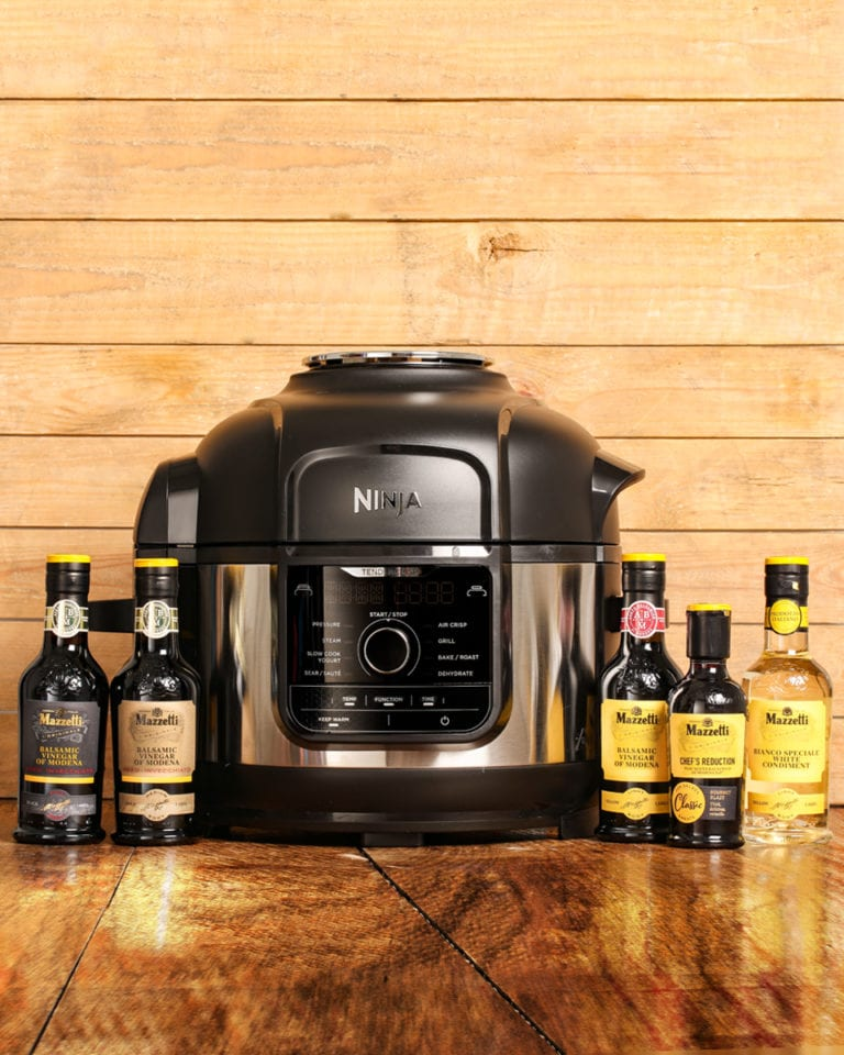 Win a Ninja Foodi multi-cooker, a £250 Waitrose gift card and a Mazzetti balsamic bundle!