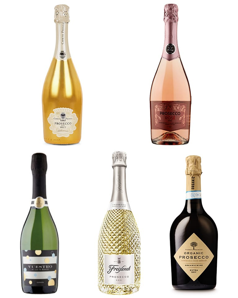 Five fabulous fizzes for New Year's Eve under £10