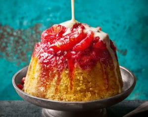 Try our blood orange steamed pudding for a comforting treat this February