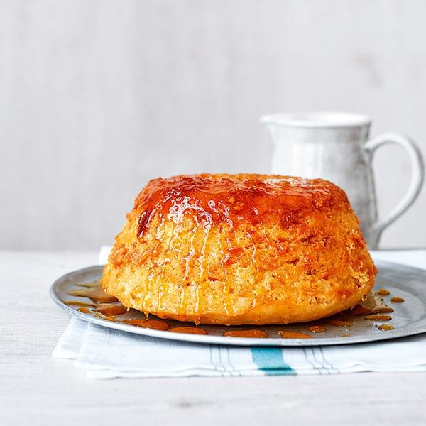 Healthier sponge pudding